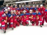 Алексей Прокопенко, Артем Свищёв и Данила Ганин – победители международных соревнований по хоккею